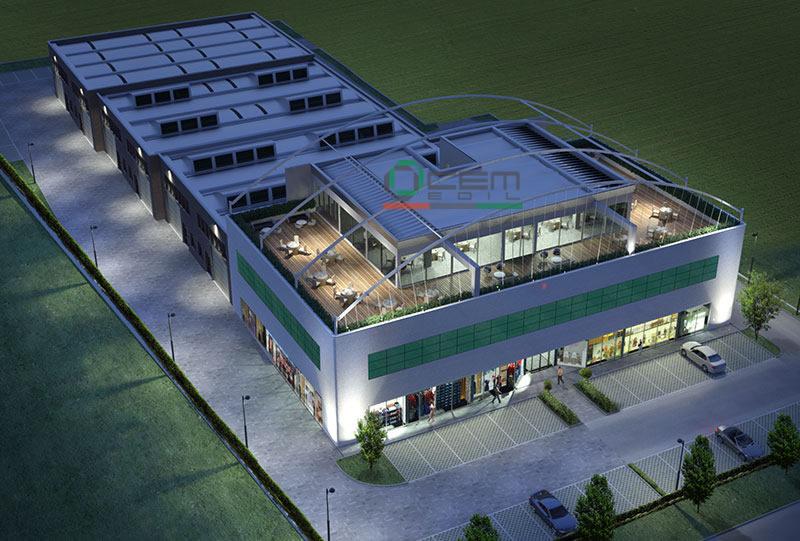Progetto Centro Commerciale
